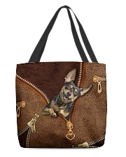 Miniature Pinscher  All-over Tote front
