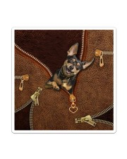 Miniature Pinscher  Sticker tile