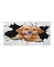 Golden Retriever Crack Cloth face mask thumbnail