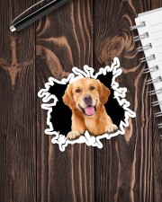 Golden Retriever Crack Sticker - Single (Vertical) aos-sticker-single-vertical-lifestyle-front-05