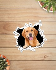 Golden Retriever Crack Sticker - Single (Vertical) aos-sticker-single-vertical-lifestyle-front-07