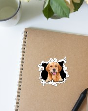 Golden Retriever Crack Sticker - Single (Vertical) aos-sticker-single-vertical-lifestyle-front-16