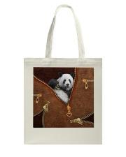Panda  Tote Bag tile