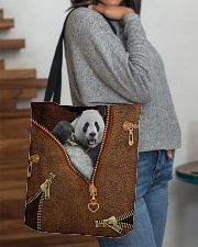 Panda  All-over Tote aos-all-over-tote-lifestyle-front-09