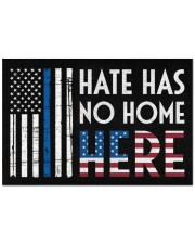 """Police America Hate Has No Home Here Doormat 22.5"""" x 15""""  front"""
