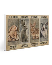 Rabbit Be Strong 15  30x20 Gallery Wrapped Canvas Prints thumbnail