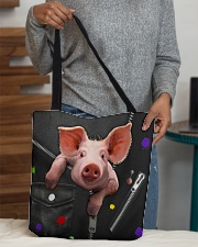 Pig - Zip - All - Tote  All-over Tote aos-all-over-tote-lifestyle-front-10