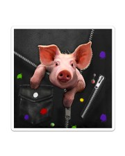 Pig - Zip - All - Tote  Sticker - Single (Vertical) thumbnail