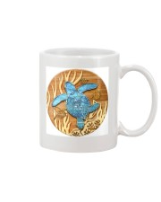 Sea Turtle - Blue Circle Ornament Mug thumbnail
