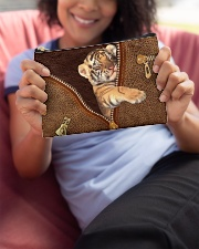 Tiger Zip Accessory Pouch - Standard aos-accessory-pouch-8-5x6-lifestyle-front-06