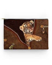 Tiger Zip Accessory Pouch - Standard back