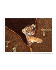 Tiger Zip Sticker tile