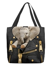 Elephant - Jacket  All-over Tote front