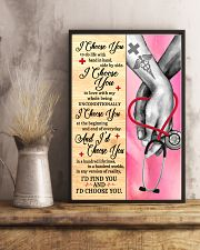 Nurse - I Choose You Poster 11x17 Poster lifestyle-poster-3
