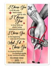Nurse - I Choose You Poster Sticker - Single (Vertical) thumbnail