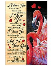 Flamingo - I Choose You Poster 11x17 Poster front