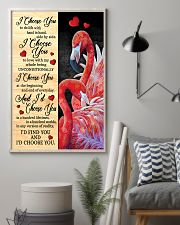 Flamingo - I Choose You Poster 11x17 Poster lifestyle-poster-1