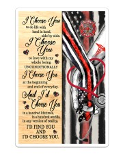 Firefighter - Nurse - C - I Choose You Poster Sticker - Single (Vertical) thumbnail