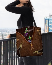 Humming Bird  All-over Tote aos-all-over-tote-lifestyle-front-05
