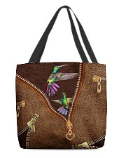 Humming Bird  All-over Tote back