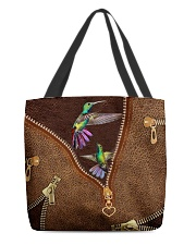 Humming Bird  All-over Tote front