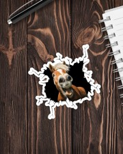 Horse Crack Sticker - Single (Vertical) aos-sticker-single-vertical-lifestyle-front-05
