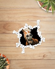 Horse Crack Sticker - Single (Vertical) aos-sticker-single-vertical-lifestyle-front-07