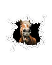 Horse Crack Sticker - Single (Vertical) front