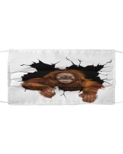 Monkey Crack Cloth face mask thumbnail