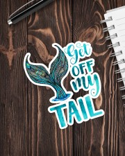 Get Off My Tail Sticker - Single (Vertical) aos-sticker-single-vertical-lifestyle-front-05