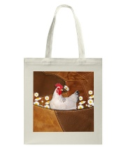 Rooster Daisy Patchwork Tote Bag tile