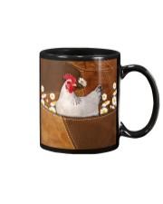 Rooster Daisy Patchwork Mug tile