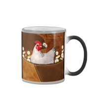 Rooster Daisy Patchwork Color Changing Mug thumbnail