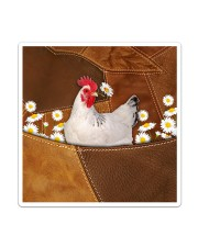 Rooster Daisy Patchwork Sticker - Single (Vertical) thumbnail