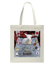 Just A Girl Who Loves Sheep  Tote Bag thumbnail