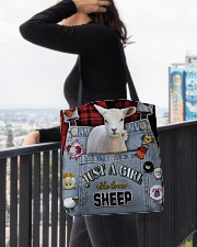 Just A Girl Who Loves Sheep  All-over Tote aos-all-over-tote-lifestyle-front-05