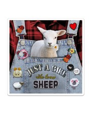Just A Girl Who Loves Sheep  Sticker - Single (Vertical) thumbnail