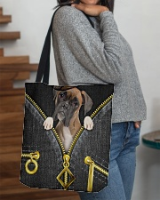 Boxer - Denim zipper All-over Tote aos-all-over-tote-lifestyle-front-09
