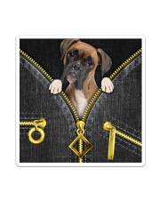 Boxer - Denim zipper Sticker - Single (Vertical) thumbnail