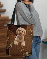 Cockapoo  All-over Tote aos-all-over-tote-lifestyle-front-09