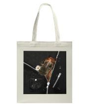 Horse Black  Tote Bag tile
