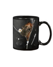 Horse Black  Mug tile