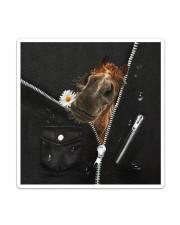 Horse Black  Sticker - Single (Vertical) thumbnail
