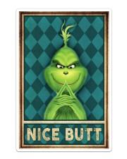 Grinch Nice Butt Sticker tile