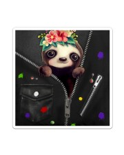Sloth - Zip - All Tote Sticker - Single (Vertical) thumbnail