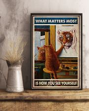 Cat - Yourself 11x17 Poster lifestyle-poster-3