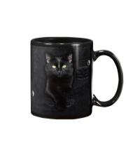Black Cat Denim Mug thumbnail