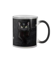 Black Cat Denim Color Changing Mug thumbnail