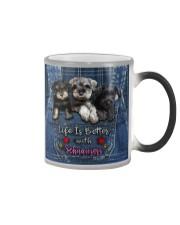Schnauzer Life Is Bettee Color Changing Mug thumbnail