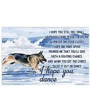 German Shepherd - I Hope You Dance 17x11 Poster front